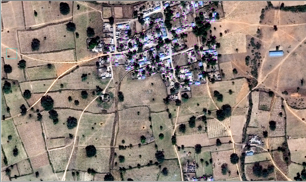 Settlement mapping in Kano, Nigeria