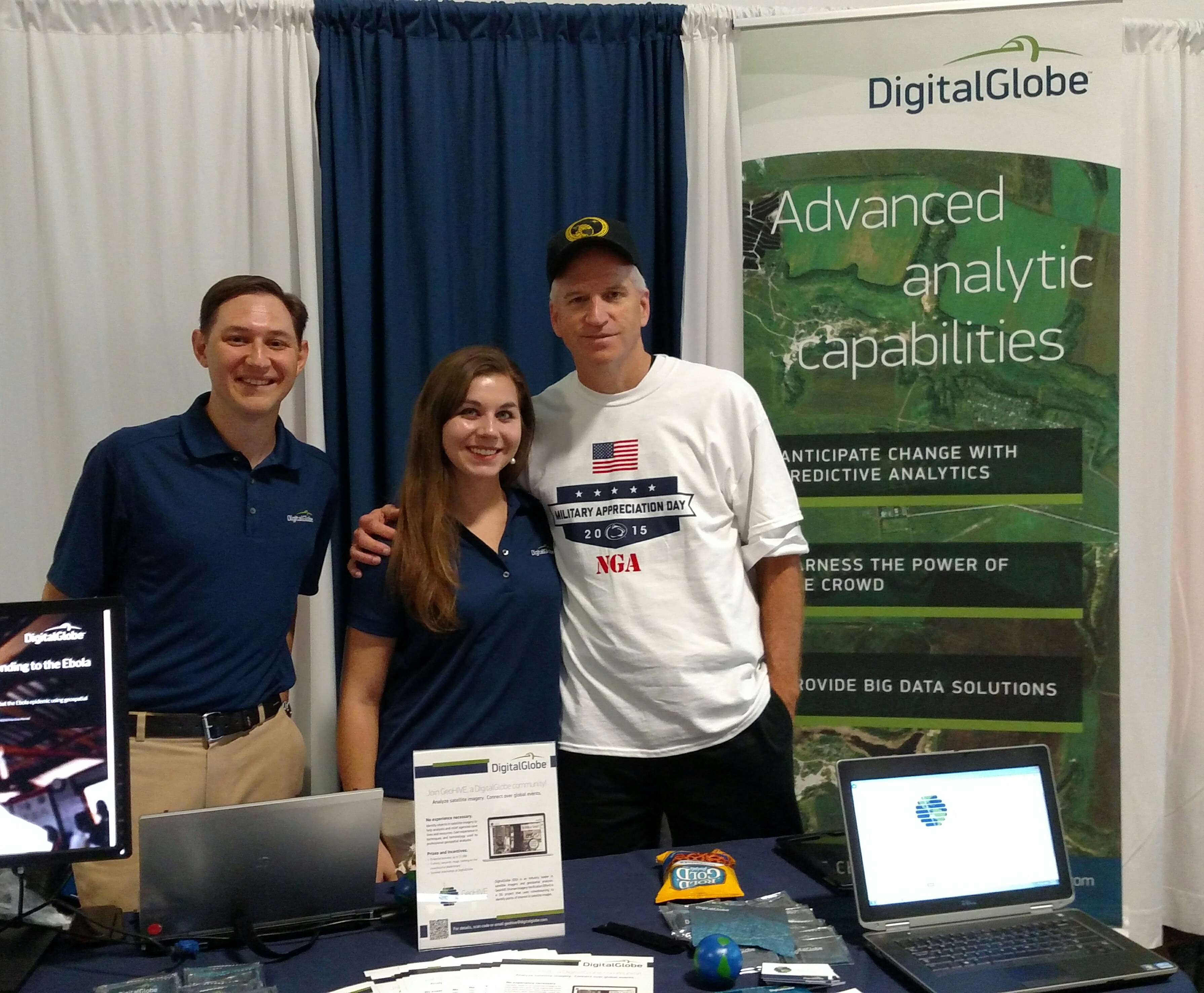 Resource Fair at Penn State Military Appreciation Day