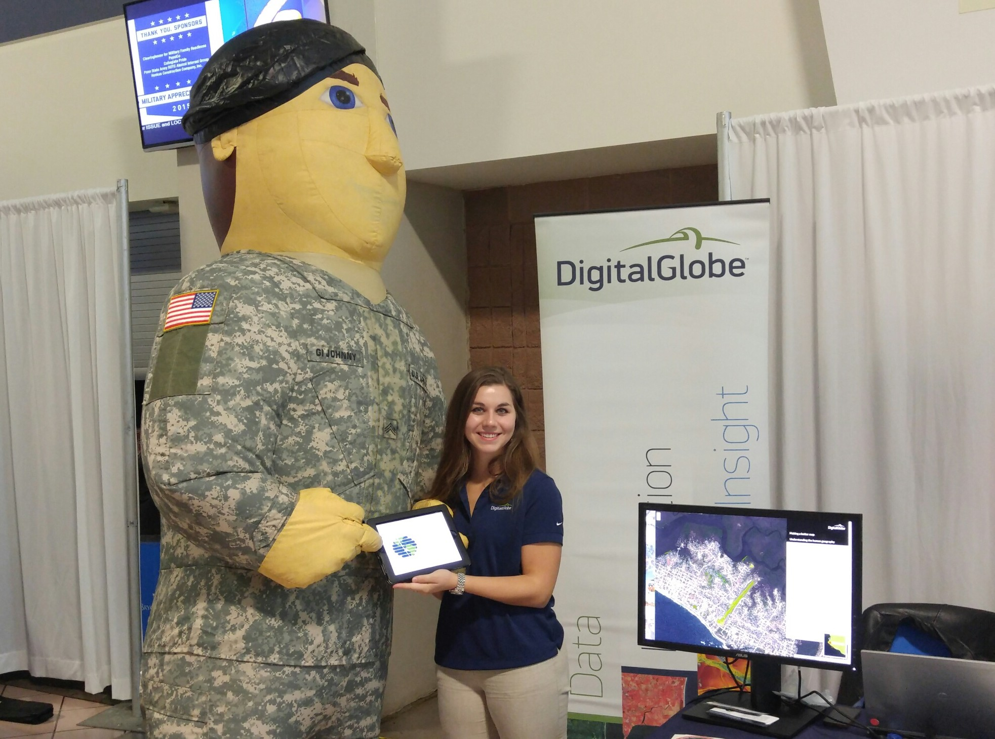 Resource Fair at the Penn State Military Appreciation Day
