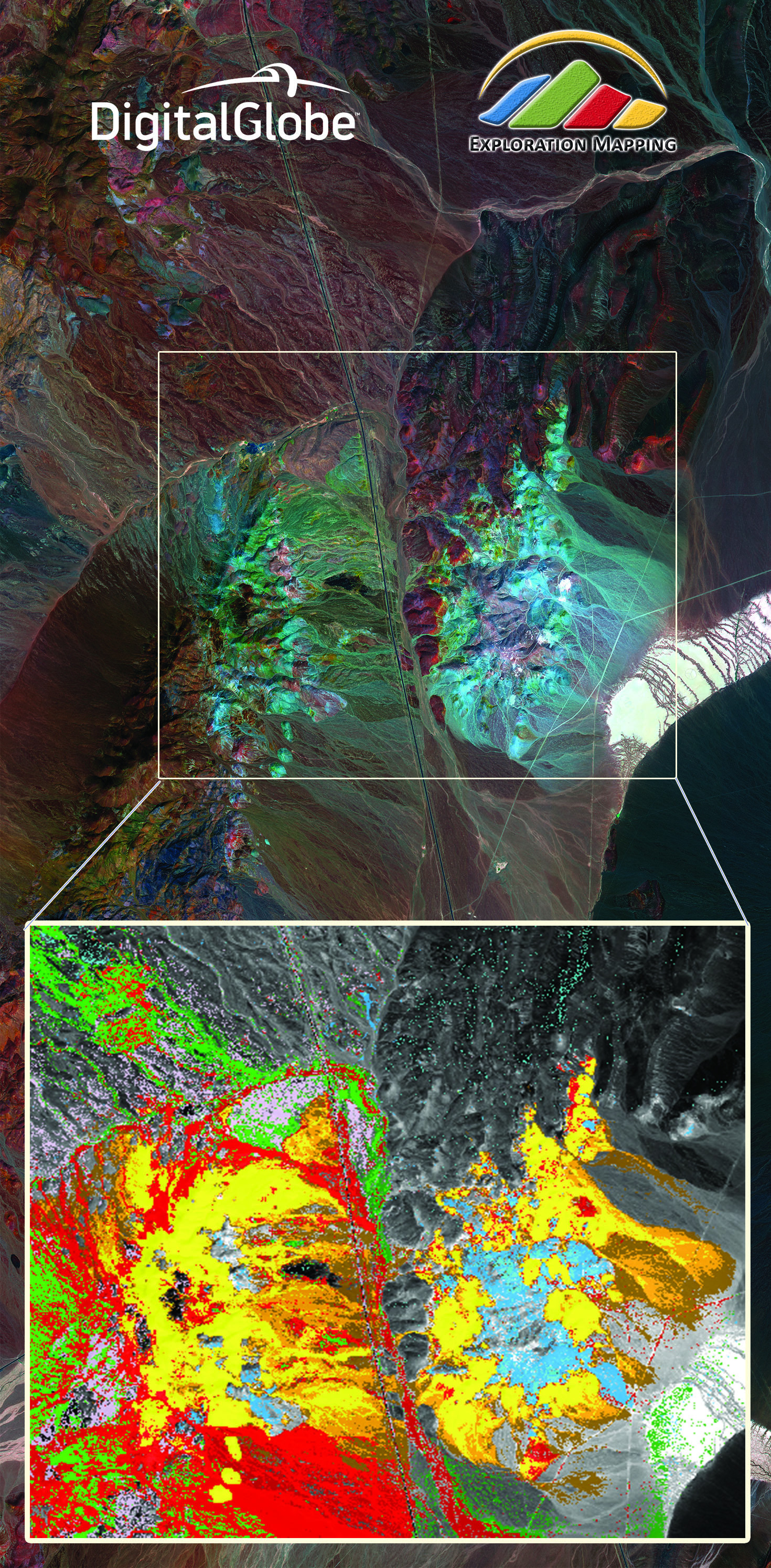 30cm WorldView-3 image of Cuprite, Nevada