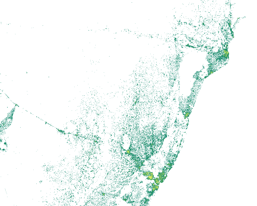 New Facebook population estimates derived from DigitalGlobe satellite imagery. Image from Facebook internet.org whitepaper, Connecting the World with Better Maps: Data-Assisted Population Distribution Mapping.