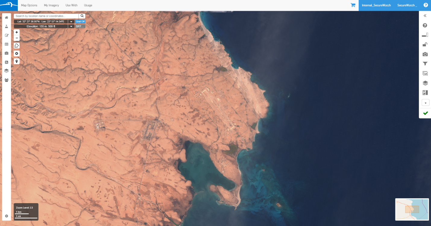 Sentinel-2 natural color image