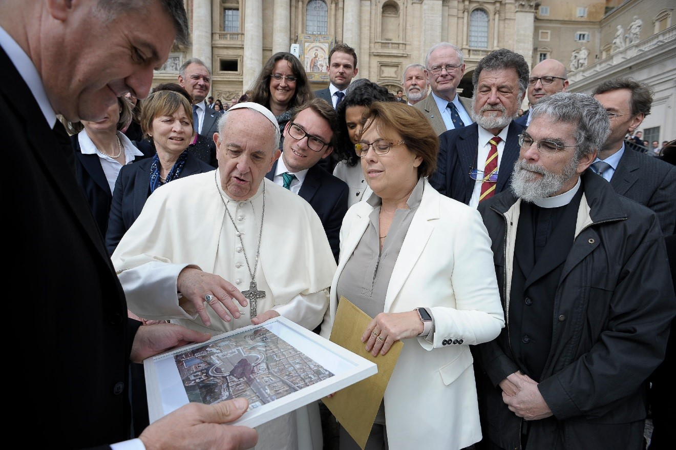 Meeting the Pope_2