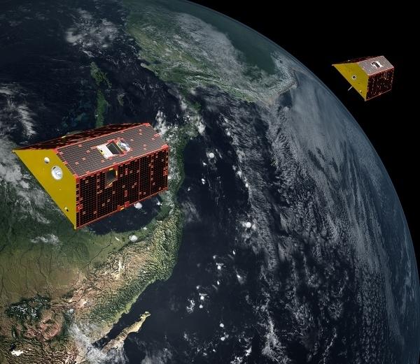 GRACE-FO on orbit
