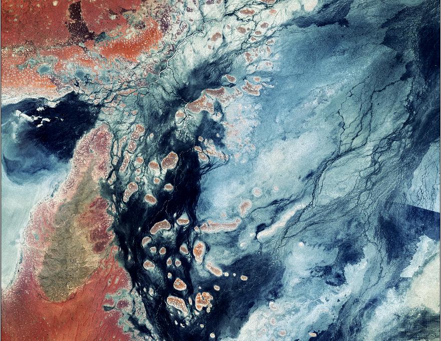 Maxar NaturalVue 2.0 mosaic_Lake Yamma Yamma Australia