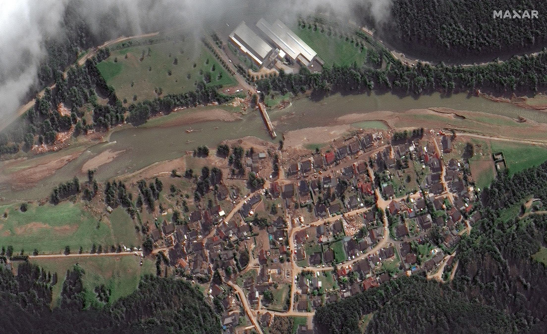Respon Open Data Program terhadap Banjir di Eropa