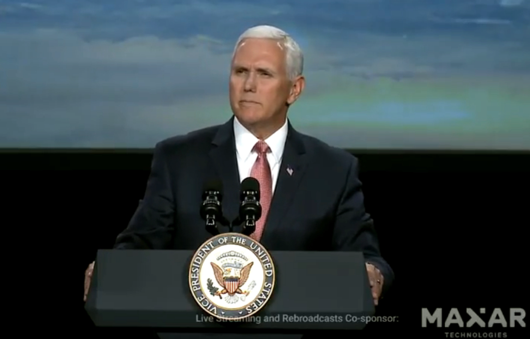 Vice President Pence remarks at Space Symposium