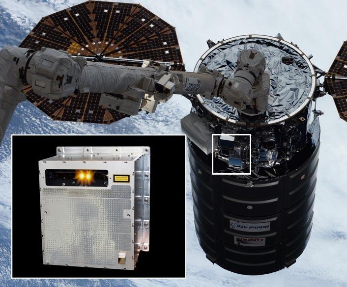 The Neptec-developed Cygnus TriDAR